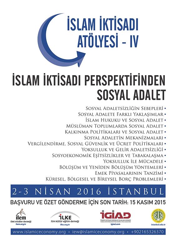islam iktisadi atolyesi iv islam iktisadi perspektifinden sosyal adalet